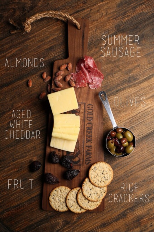 Festive Cheeseboard Picture