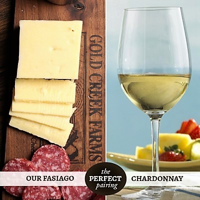 Perfect Wine Pairing: Fasiago and Chardonnay