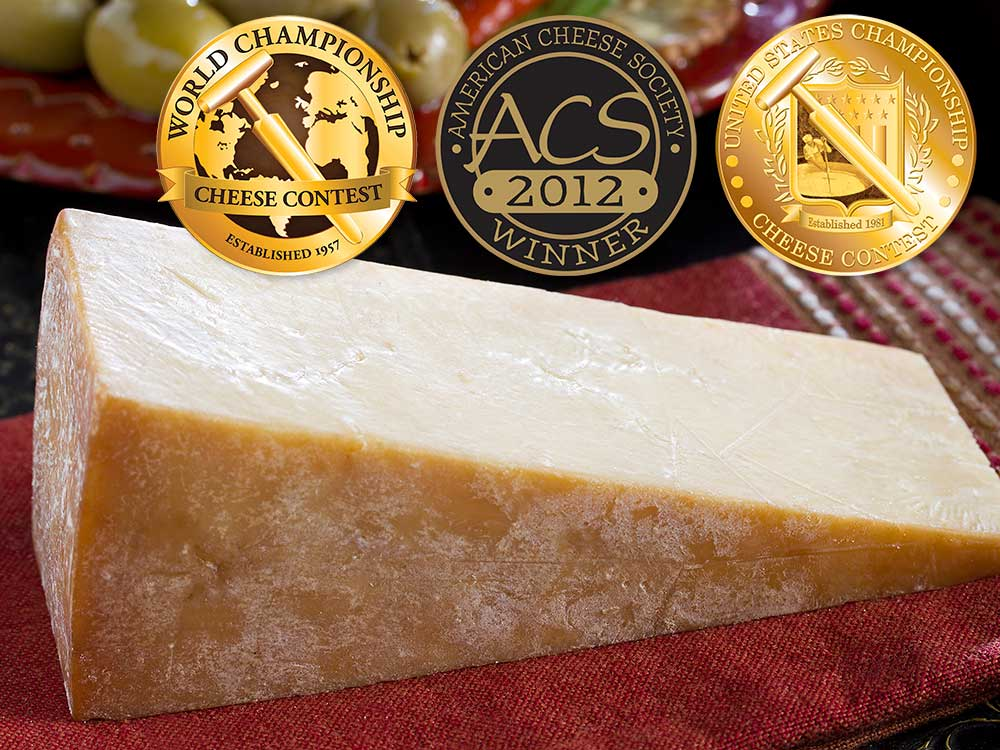 Smoked Parmesan award winning cheese