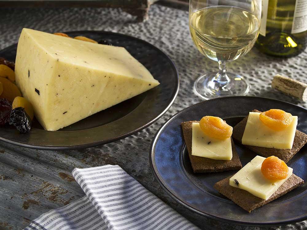 Chartufo Truffle Cheddar Artisan Cheese