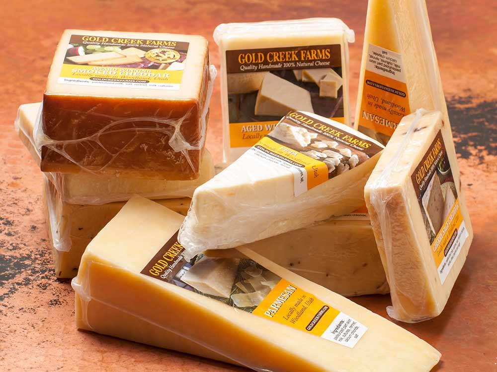 100% natural cheese