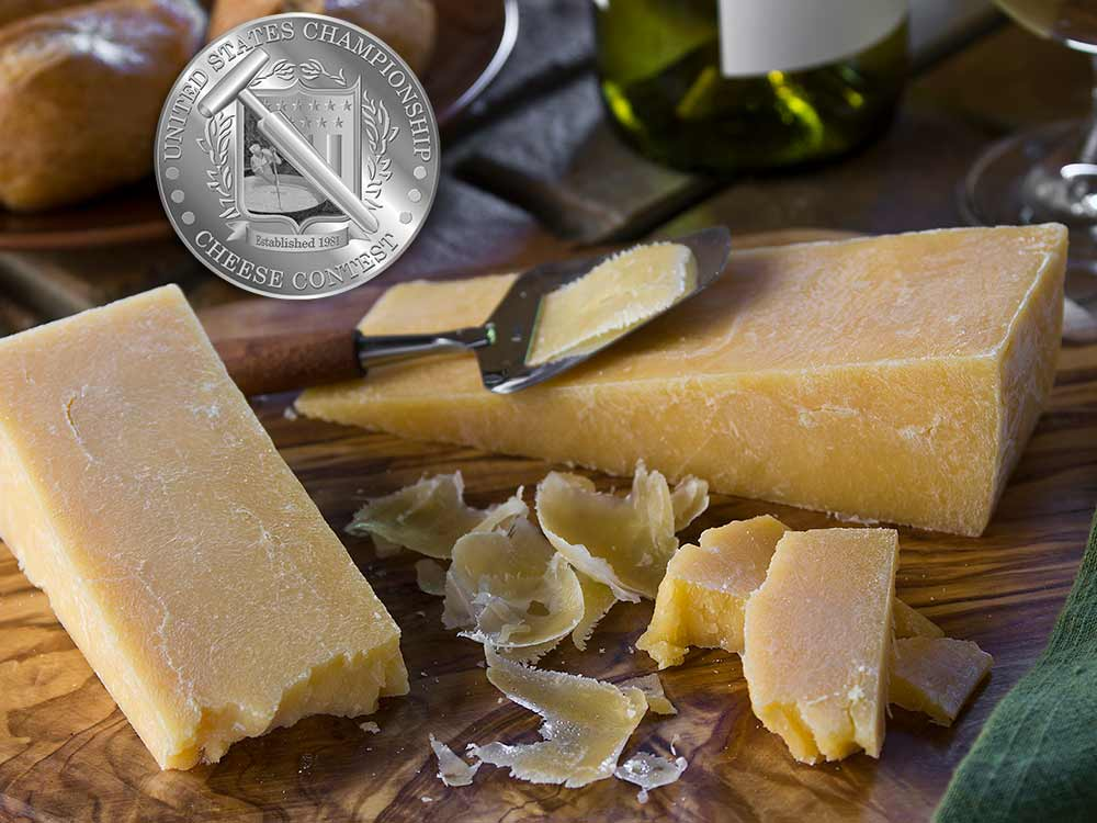 Smoked Romano award winning cheese