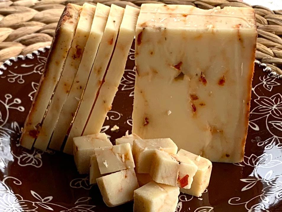 Pimento Bay Cheddar cheese