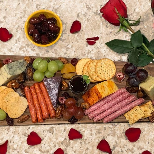 romantic cheese board